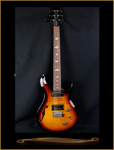 2016 Paul Reed Smith S2 Custom 22 Semi-Hollow Tri-Color Burst, Brand New, GigBag