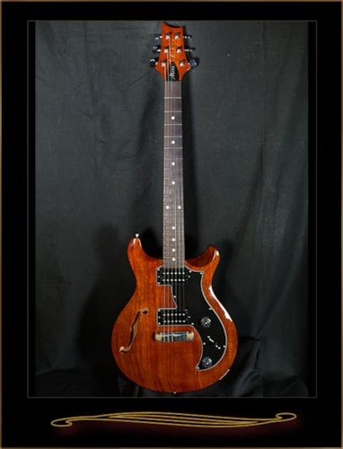 2016 Paul Reed Smith S2 Mira Semi-Hollow Vintage Mahogany, Near Mint, GigBag, $799.00