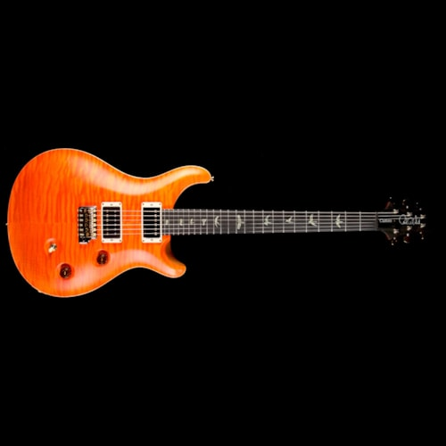 2016 Paul Reed Smith Used 2016 Paul Reed Smith Wood Library Custom 24 Fatback Electric Guitar Satin Koi Orange Excellent, $3,749.00