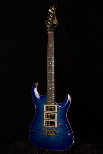 2016 Pensa Custom MK I Blue-Purple Burst, Brand New, Original Hard