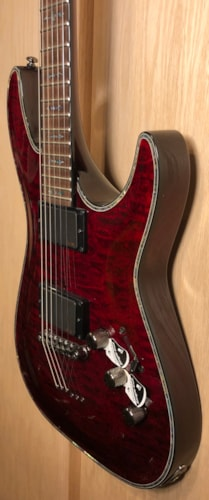 2016 Schecter Hellraiser C-1 Black Cherry