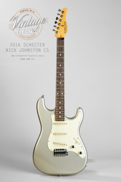 2016 Schecter Nick Johnston Signature
