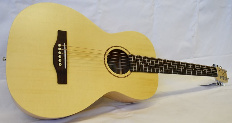 2016 Simon & Patrick Trek Solid Spruce Parlor Natural, Brand New, Call For Price!