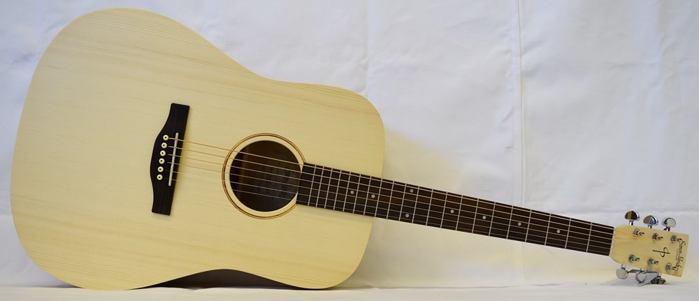 2016 Simon & Patrick Trek Solid Spruce Dreadnaught Natural, Brand New, Call For Price!
