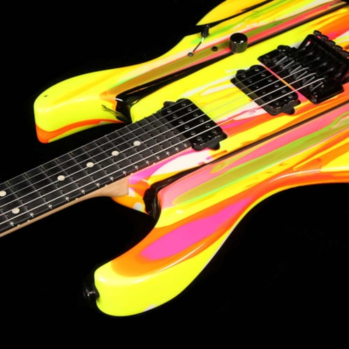 2016 Suhr '80s Shred MKII Neon Drip 2016 Excellent, $3,499.00