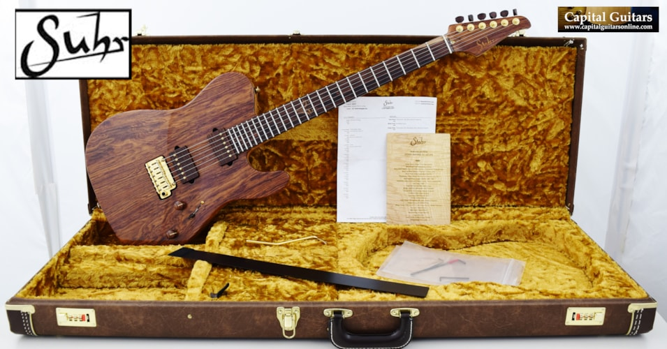 2016 Suhr Collection Series T Swamp Ash, Mexican Kingwood, Birdseye Maple