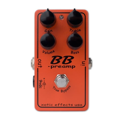 2016 Xotic BB Preamp Red, Brand New