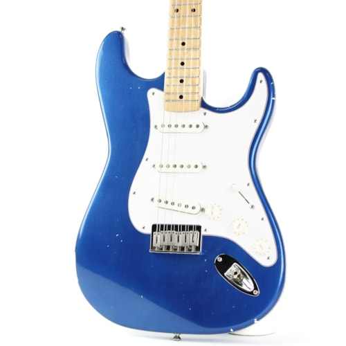 Partscaster S-Style Electric Nitro Blue