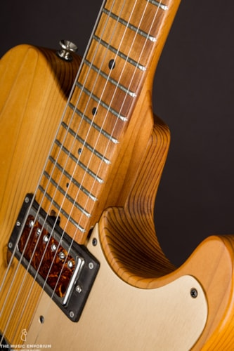 2017 Asher Guitars Asher T- Deluxe Roasted Pine () Natural/Blonde