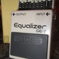 2017 BOSS GE-7 Equalizer Pedal
