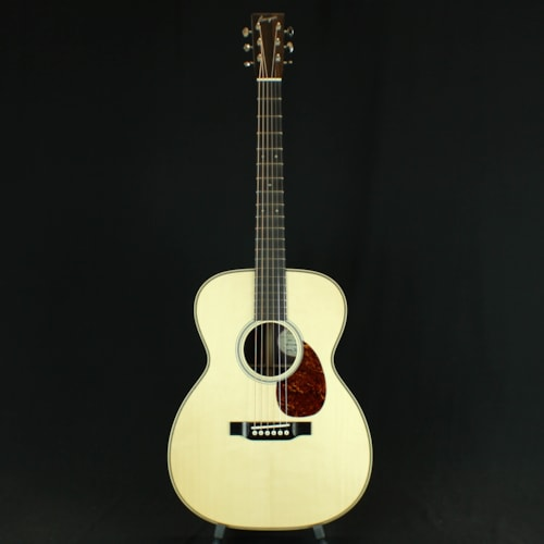 2017 Bourgeois OM Vintage, Adirondack Spruce Top, Indian RW B&S Natural, Brand New, Original Hard