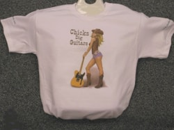 2017 Chicks Dig Guitars T-Shirts GUYS