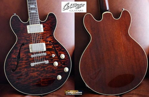 2017 Collings I-35 Deluxe Tiger Eye