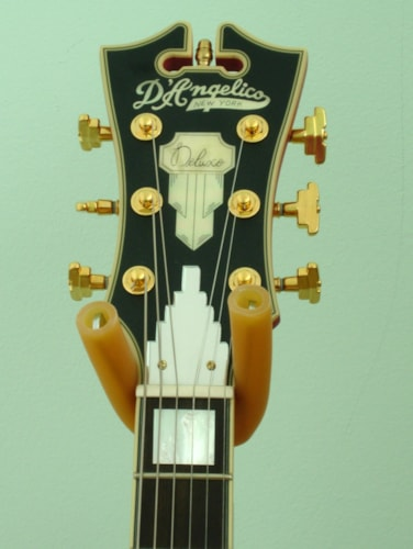 2017 D'Angelico Deluxe EX-SS Prototype Matte Red, Near Mint, Original Hard
