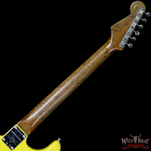 2017 Fender 2017 NAMM Fender Custom Shop 30th Anniversary LTD 1960 Roasted Stratocaster Relic Graffiti Yellow Aged Graffiti Yellow, Brand New, $3,999.00