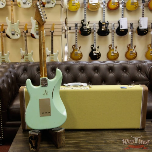 2017 Fender 2017 NAMM Fender Custom Shop 30th Anniversary LTD 1956 Roasted Stratocaster Relic Faded Surf Green Faded Surf Green, Brand New, $3,999.00