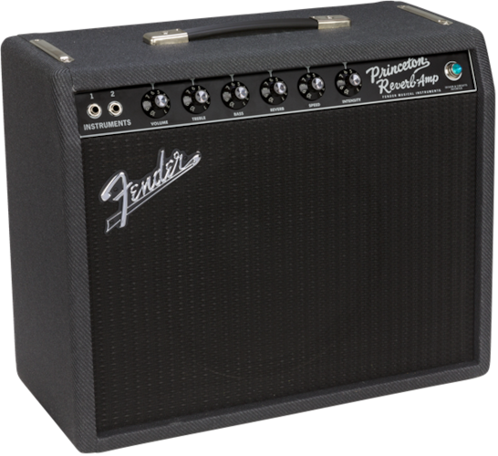 2017 Fender '68 Custom Princeton Reverb Ltd. Edition Black & Blue, Brand New