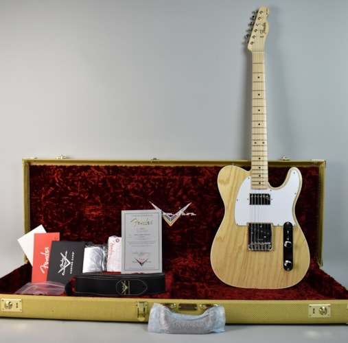 2017 Fender Albert Collins Signature Telecaster Natural, Brand New, Original Hard, $4,700.00