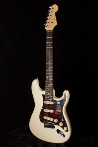 2017 Fender® American Elite Stratocaster® RW Olympic Pearl, Brand New, Original Hard, $1,949.99