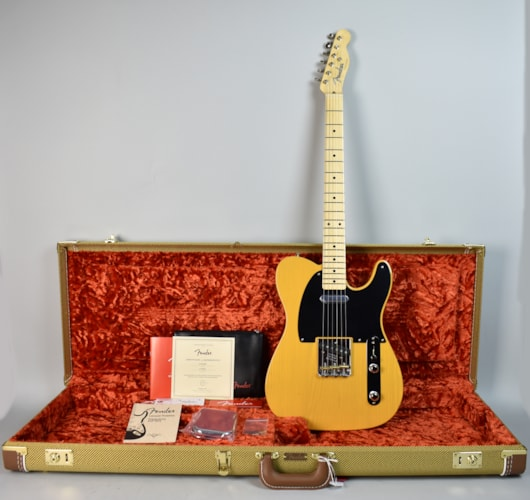 2017 Fender American Original 50's Telecaster Butterscotch Blonde, Brand New, Original Hard, $1,799.99