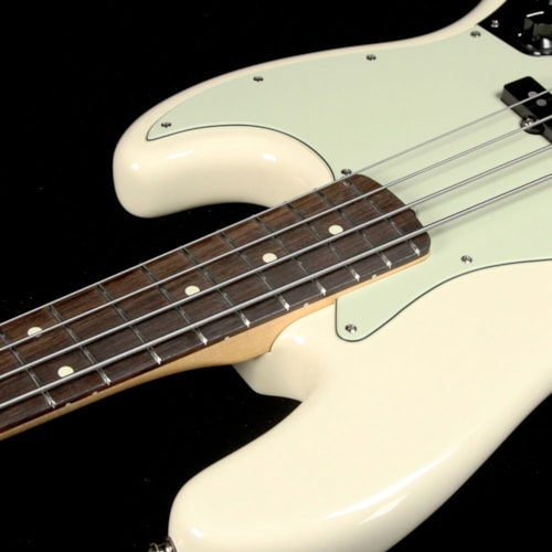 2017 Fender American Pro Jazz Bass Olympic White 2017 Excellent