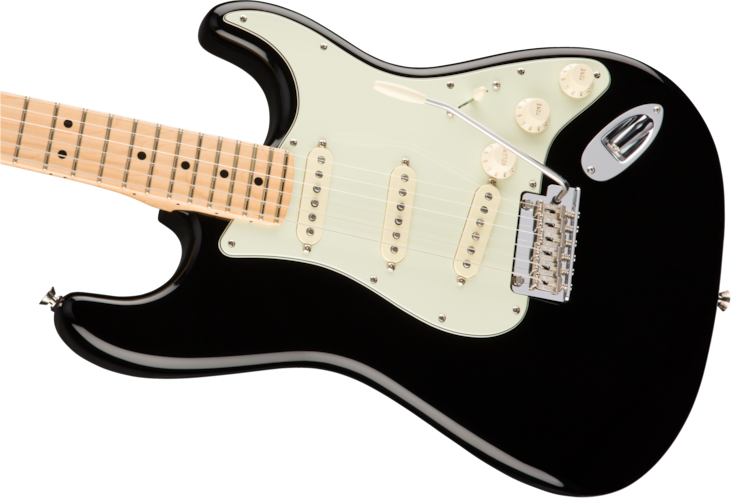 Fender Clearance Sale New American Pro Stratocaster Black w/Full Warranty