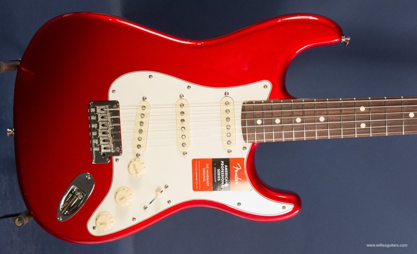 2017 Fender American Professional Stratocaster Candy Apple Red, Brand New, Original Hard, $1,399.99