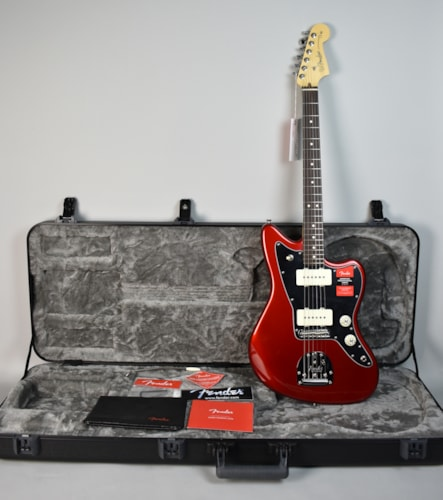 2017 Fender American Professional Jazzmaster Candy Apple Red, Near Mint, Hard, $1,499.99