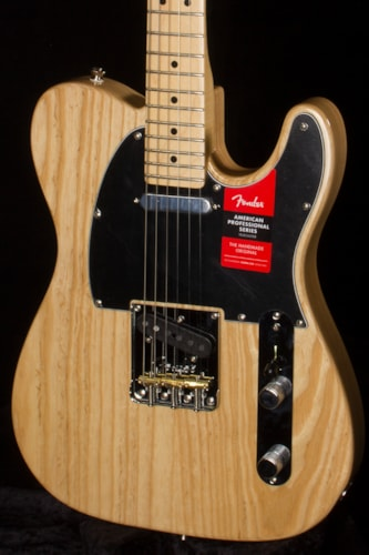 2017 Fender® American Professional Telecaster® MN Natural, Brand New, Original Hard, $1,499.99