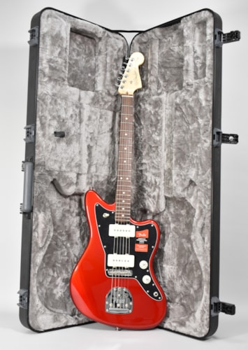 2017 Fender American Professional Jazzmaster Candy Apple Red Guitar w/OHSC