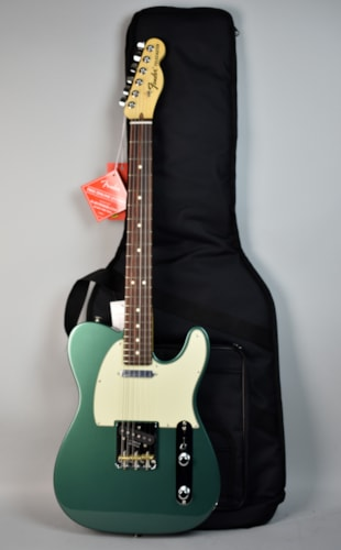 2017 fender american special telecaster sherwood green metallic guitar w green guitars. Black Bedroom Furniture Sets. Home Design Ideas