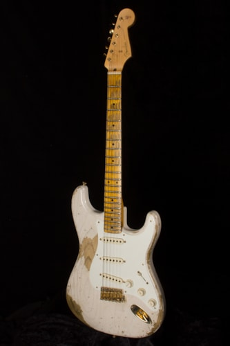 2017 Fender® Custom Shop 1956 Strat® ASH HEAVY Relic® White Blonde, Brand New, Original Hard, $5,640.00