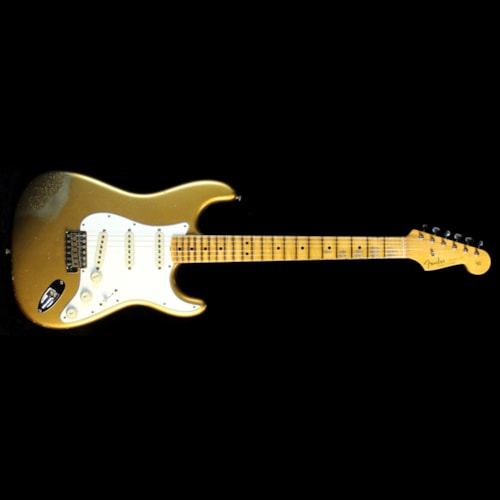2017 Fender Custom Shop 2017 Limited 1964 Stratocaster Relic Guitar Aztec Gold Sparkle Brand New, $4,150.00