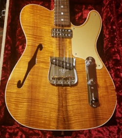 2017 Fender Custom Shop Artisan Caballo Telecaster