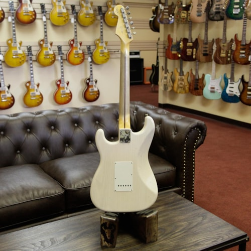 2017 Fender® Custom Shop Eric Clapton Signature Stratocaster® Journeyman Relic® Aged White Blonde Aged White Blonde, Brand New, Please Change, $4,999.00
