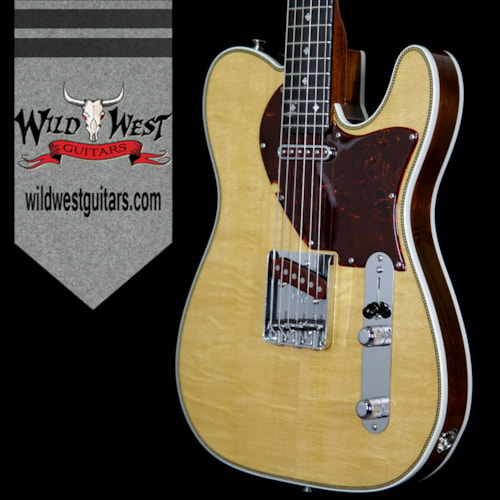 2017 Fender Custom Shop Fred Stuart Founders Series Design Herringbone Telecaster Natural, Brand New, $7,995.00