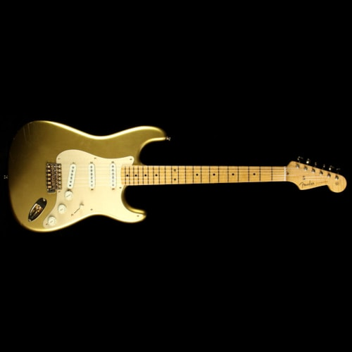 2017 Fender Custom Shop Used Fender Custom Shop 2017 Limited Edition Stratocaster Closet Classic Electric Guitar HLE Gold Excellent, $2,799.00