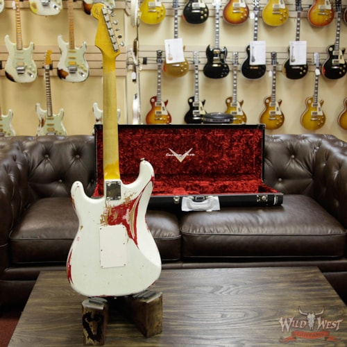 Miraculous 2017 Fender Custom Shop White Lightning Hss Floyd Rose Gmtry Best Dining Table And Chair Ideas Images Gmtryco