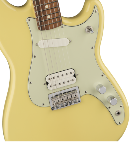 2017 Fender Duo-Sonic Canary Diamond, Brand New, $474.99