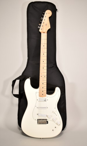 2017 Fender EOB Stratocaster Ed O'Brien Olympic White Electric Guitar w/GigBag