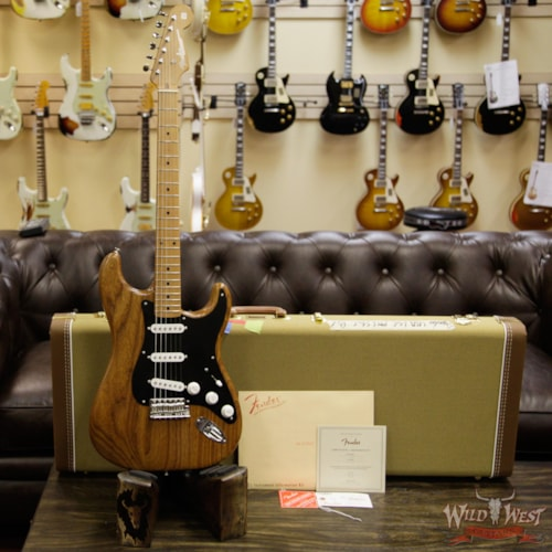 2017 Fender FSR American Vintage Limited Edition '56 1956 Stratocaster Roasted Natural 1 of 200 V1740395 Natural, Brand New, $1,999.00