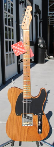 2017 Fender® FSR Limited Edition '52 Telecaster® - Roasted Ash Natural, Brand New, Original Hard, $1,999.99