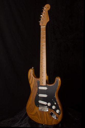 2017 Fender® LTD 56 Strat® ROASTED ASH NATURAL, Brand New, Hard, $2,299.00