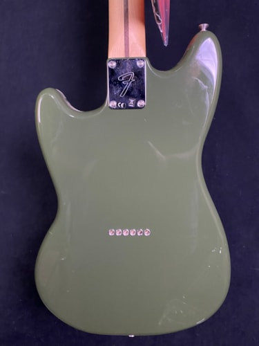 2017 Fender Player Series Mustang Olive Green