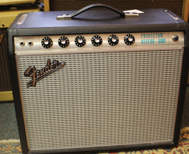 2017 Fender    Princeton Reverb '68 Re-Issue  Silver Panel, Excellent