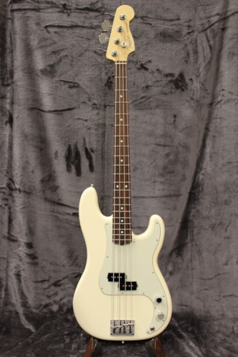 2017 Fender Professional Precision Bass Olympic White
