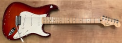 2017 Fender Standard Stratocaster Plus Top Electric Guitar