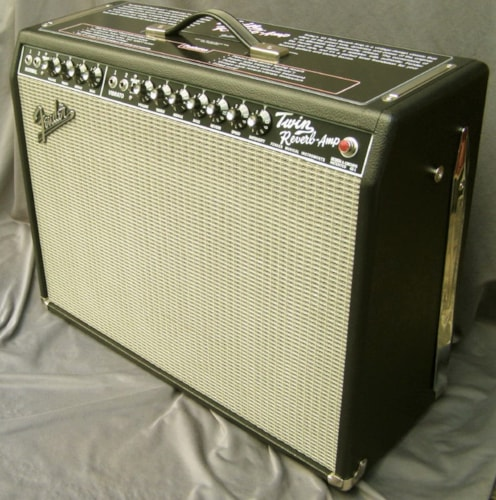 2017 Fender Twin Reverb - Like NEW! (1965 reissue) Blackface