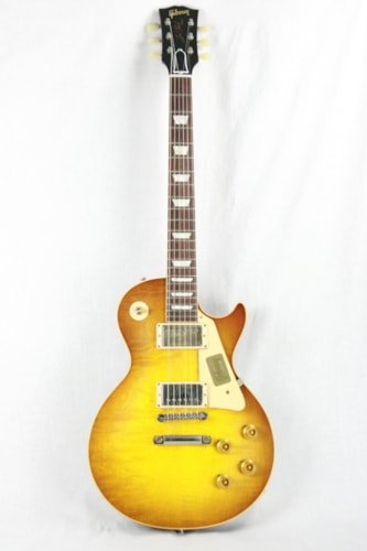 2017 Gibson 1958 Reissue Les Paul Standard ICED TEA VOS 58 Reissue R8 True Historic Specs! Excellent $3,899.00