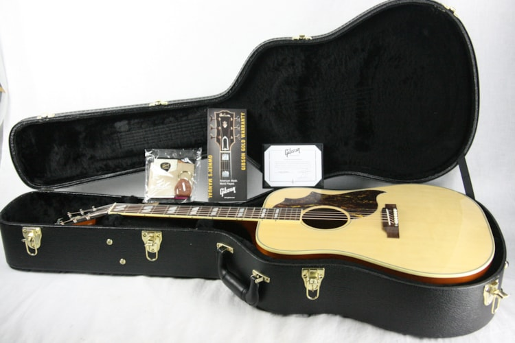 2017 Gibson Custom Shop Country Western Limited Edition! Natural southern jumbo j45 j50 Excellent $2,399.00